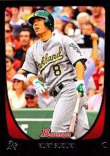 Buy Kurt Suzuki #174 - Athletics 2011 Bowman Baseball Trading Card