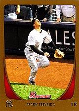 Buy Mark Teixeira #30 - Yankees 2011 Bowman Gold Baseball Trading Card