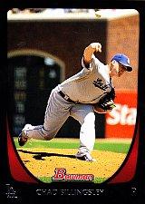 Buy Chad Billingsley #82 - Dodgers 2011 Bowman Baseball Trading Card