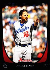 Buy Andre Ethier #66 - Dodgers 2011 Bowman Baseball Trading Card