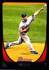 Buy Ted Lilly #8 - Dodgers 2011 Bowman Baseball Trading Card