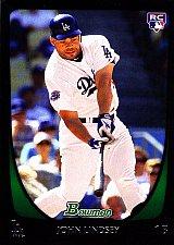 Buy John Lindsey #207 - Dodgers 2011 Bowman Rookie Baseball Trading Card
