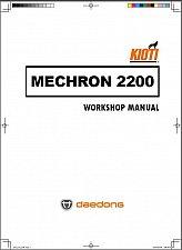 Buy Kioti Mechron 2200 UTV Service Repair Workshop Manual on a CD