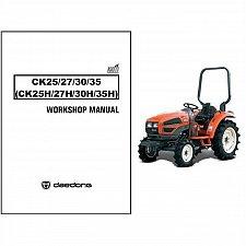 Buy Kioti CK25H CK27H CK30H CK35H / CK25 CK27 CK30 CK35 Tractor Service Manual CD