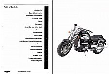 Buy 2004-2013 Triumph Rocket III Service & Owner's Manual on a CD