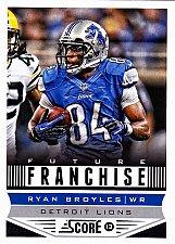 Buy Ryan Broyles #309 - Lions 2013 Score Football Trading Card