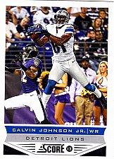 Buy Calvin Johnson Jr #69 - Lions 2013 Score Football Trading Card