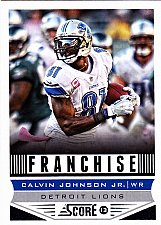 Buy Calvin Johnson Jr #277 - Lions 2013 Score Football Trading Card