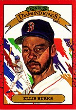 Buy Ellis Burks #23 - Redsox 1990 Donruss Baseball Trading Card