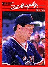 Buy Rob Murphy #186 - Redsox 1990 Donruss Baseball Trading Card