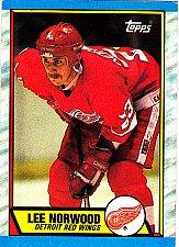 Buy Lee Norwood #75 - Red Wings 1989 Topps Hockey Trading Card
