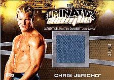 Buy Chris Jericho #EC-14 - WWE 2010 Topps Relic Wrestling Trading Card