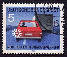 Buy German Used Scott #1059 Catalog Value $.25