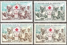 Buy Dahomey:Red Cross (1962) MNH Complete Set