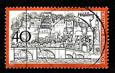 Buy German Used Scott #1069A Catalog Value $.25