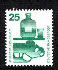Buy German Hinged Scott #1077 Catalog Value $.40