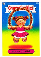 Buy Armpit CLAIRE - Garbage Pail Kids Trading Card #22a