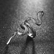 Buy fashion men snake ring