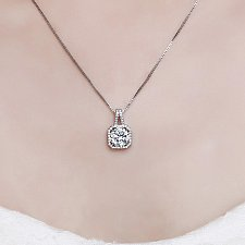 Buy silver plated necklace