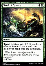 Buy Swell of Growth - Green - Instant - Magic the Gathering Trading Card