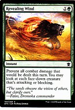 Buy Revealing Wind - Green - Instant - Magic the Gathering Trading Card