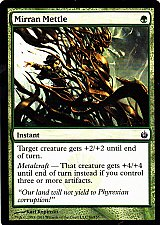 Buy Mirran Mettle - Green - Instant - Magic the Gathering Trading Card