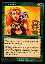 Buy Symbiosis - Green - Instant - Magic the Gathering Trading Card