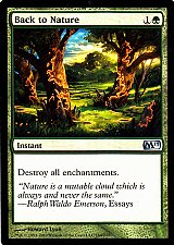 Buy Back to Nature - Green - Instant - Magic the Gathering Trading Card
