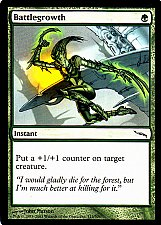 Buy Battlegrowth - Green - Instant - Magic the Gathering Trading Card