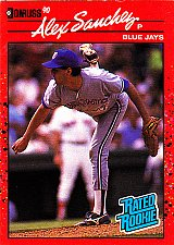 Buy Alex Sanchez #45 - Blue Jays 1990 Donruss RC Baseball Trading Card