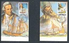 Buy St Tome & Principe Columbus Cook Drake Ericson Ship Explorer Navigator 6 Maxi 1982