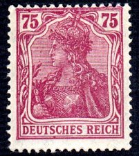 Buy German Hinged Scott #127 Catalog Value $.60