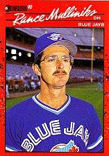 Buy Rance Mulliniks #607 - Blue Jays 1990 Donruss Baseball Trading Card