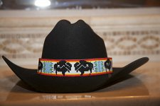Buy Buffalo Bison Native American Style Wide Hat Band Beaded Hatband