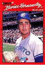 Buy Xavier Hernandez #682 - Blue Jays 1990 Donruss Baseball Trading Card