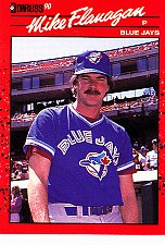 Buy Mike Flanagan #324 - Blue Jays 1990 Donruss Baseball Trading Card