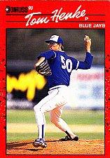 Buy Tom Henke #349 - Blue Jays 1990 Donruss Baseball Trading Card