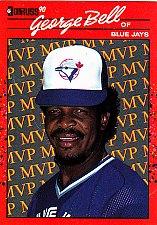 Buy George Bell #BC-13 - Blue Jays 1990 Donruss Baseball Trading Card