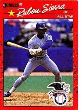 Buy Ruben Sierra #673 - Rangers 1990 Donruss Baseball Trading Card