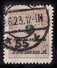 Buy German Used Scott #306 Catalog Value $3.50