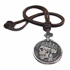 Buy men vintage skull necklace