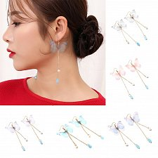 Buy 1 pair women butterfly earrings