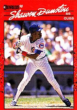 Buy Shawon Dunston #49 - Cubs 1990 Donruss Baseball Trading Card