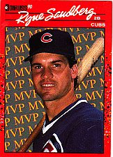 Buy Ryne Sandberg #BC-10 - Cubs 1990 Donruss Baseball Trading Card