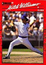 Buy Mitch Williams #275 - Cubs 1990 Donruss Baseball Trading Card