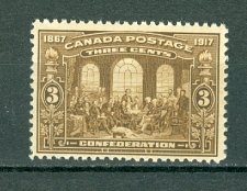 Buy Canada 135 Fathers of Confederation F-VF MNH 1917 Scott 2018 value $120 US