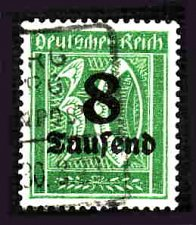 Buy German Used Scott #241 Catalog Value $1.50