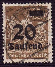 Buy German Used Scott #245 Catalog Value $2.25