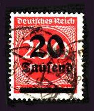 Buy German Used Scott #246 Catalog Value $2.25
