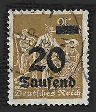 Buy German Used Scott #247 Catalog Value $14.50